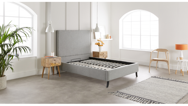 If you want a no-frills bed frame that will become a bedroom centerpiece to be proud of, Jules is the right choice. Inspired by Scandinavian design, our Jules bed frame comes with everything you need to bring style and comfort to your bedroom.