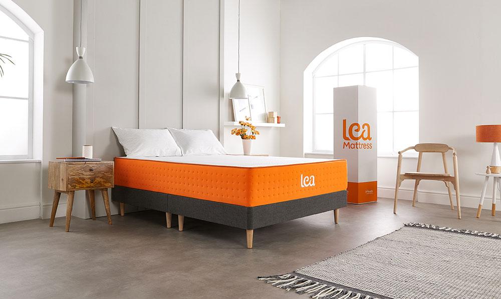 new mattress on Vincent bed