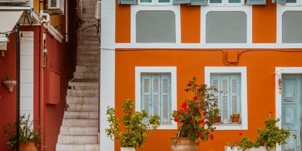 Achieve a mediterranean style house for less
