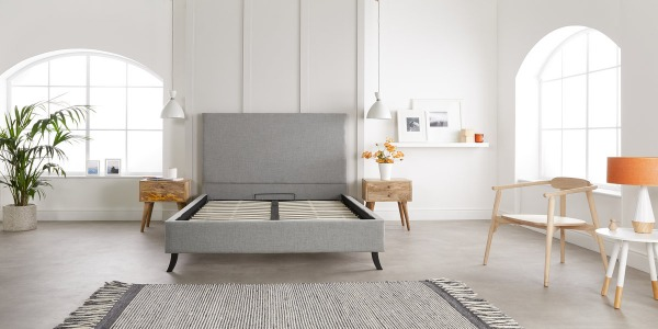 Scandi Simplicity with Stylish Bed Frames